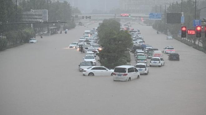 В Китае наводнение унесло жизни 33 человек