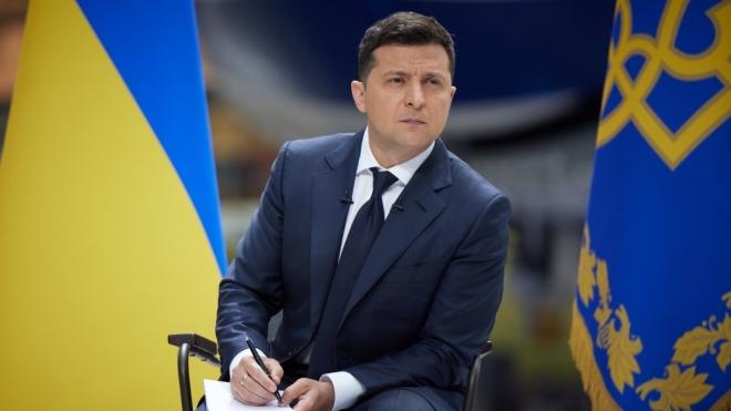 Зеленский заявил, что вопрос о ситуации на Донбассе могут вынести на Всеукраинский референдум