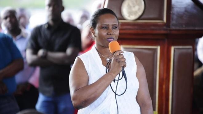 Дружина вбитого президента Гаїті виступила з першою публічною заявою після нападу