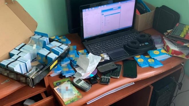 12 тисяч SIM-карток: СБУ виявила на Івано-Франківщині масштабну ботоферму