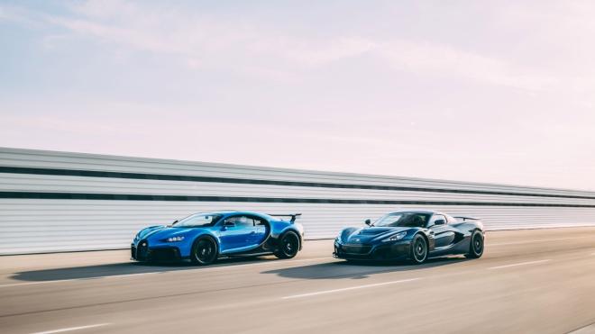 Виробники автомобілів Bugatti та Rimac об'єднуються в одну компанію. Вони виготовлятимуть нові суперкари й електрокари