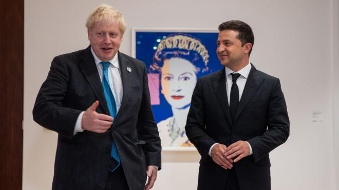 Зеленський передав прем'єру Британії список з ув'язненими Росією українцями та запросив його відвідати Київ