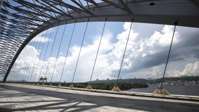 Кличко отчитался о строительстве Подольского моста в Киеве. Обещает открыть до конца года