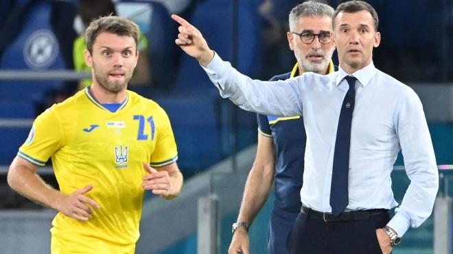 «Я действительно доволен». Шевченко прокомментировал матч сборной Украины с Англией