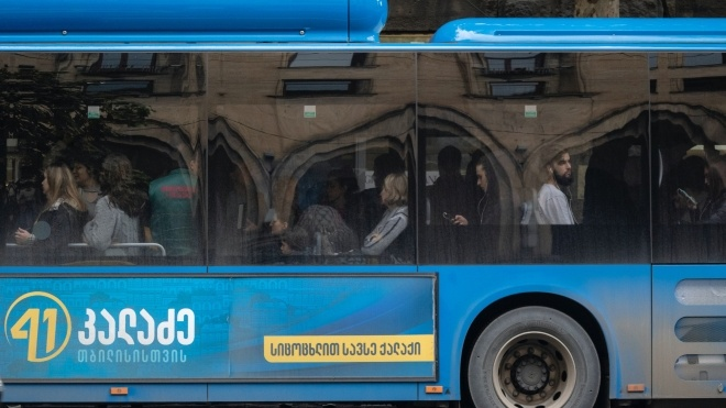 У Грузії відновили роботу громадського транспорту