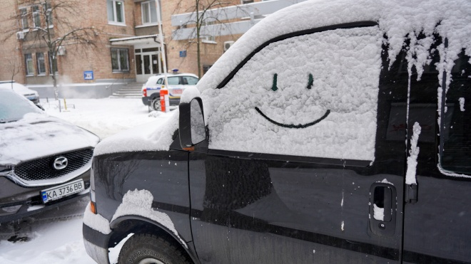 У Києві через сильний снігопад закриють школи та дитсадки, діти вчитимуться дистанційно