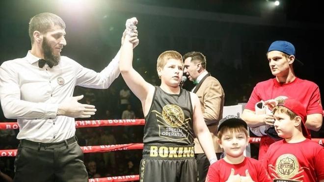 Сину Кадирова присудили перемогу на турнірі з боксу, коли суперник почав його бити