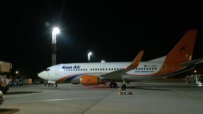 В Борисполе приземлился самолет с украинцами, которых эвакуировали из Афганистана