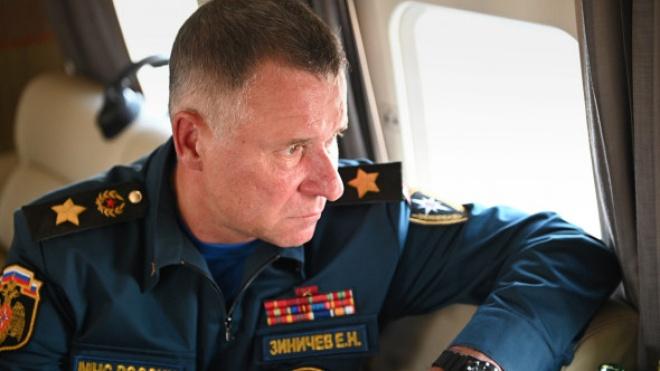 У Росії загинув глава Міністерства надзвичайних ситуацій Зінічев
