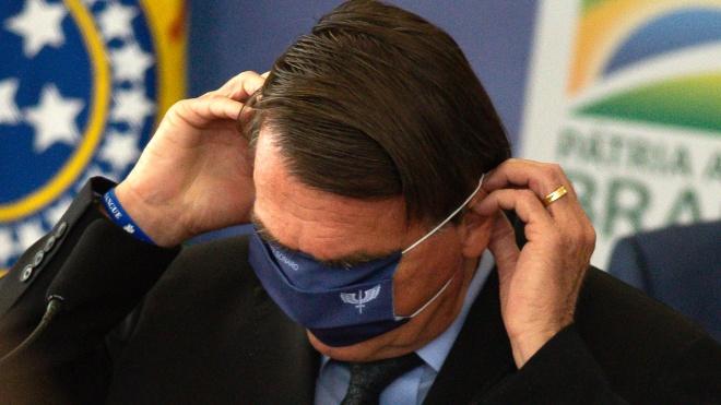 Президента Бразилії Болсонару вдруге оштрафували за відсутність маски