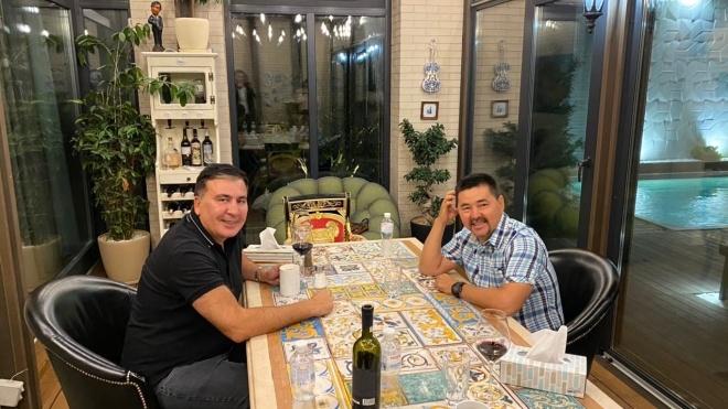 Саакашвілі представив свого партнера в Офісі простих рішень: «Звичайний хлопець з села Казахстану зі списку Forbes»