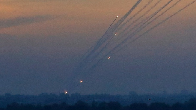 Обострение в Израиле: центральный регион страны подвергся ракетному обстрелу из сектора Газа