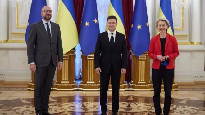 Зеленский анонсировал «промышленный безвиз» с ЕС и усиление санкций против РФ
