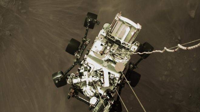 «Прилив напряжения, драмы и шума». NASA опубликовало видео посадки марсохода Perseverance