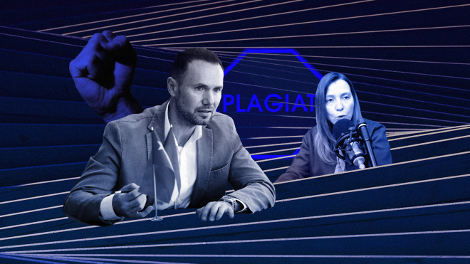 Координаторка ініціативи «Дисергейт» знайшла в роботах в. о. міністра освіти Сергія Шкарлета плагіат. Тепер вона каже, що їй погрожують, і вже подала заяву до поліції. Що відбувається?