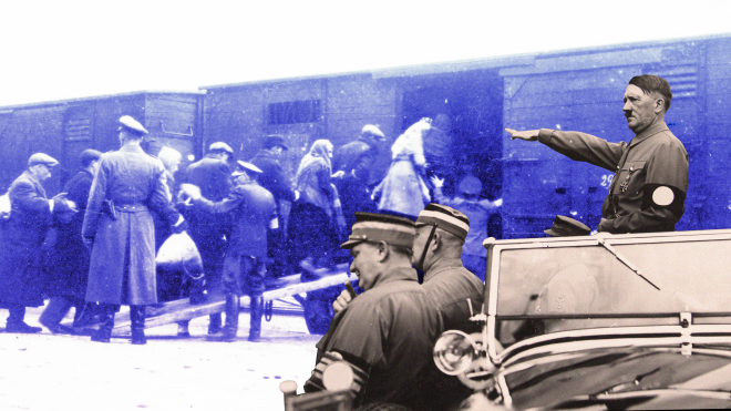 Гітлер намагався дистанціюватися від Голокосту, а більшість німців здогадувалися про долю євреїв. Коротко переказуємо нову книгу Фолькера Ульріха «Адольф Гітлер. Роки падіння 1939—1945»