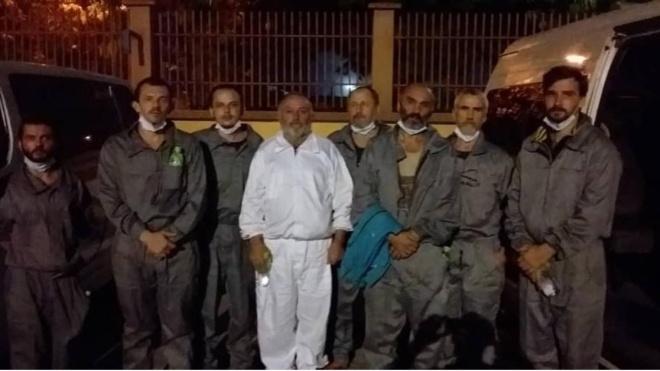 Шестерых украинских моряков освободили из плена в Нигерии