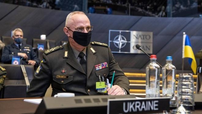 Главнокомандующий ВСУ Хомчак: Россия продолжает держать 80 тысяч военных на границе с Украиной