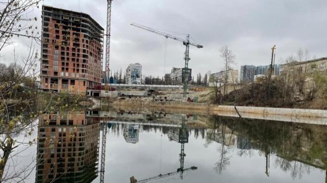Киевская прокуратура оспаривает в суде договор на противооползневые работы на озере Глинка за 90 млн грн