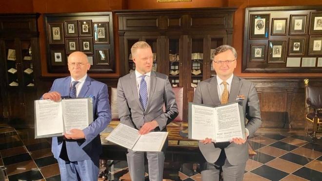 Страны «Люблинского треугольника» подписали новые документы — об Украине и НАТО и европейском наследии