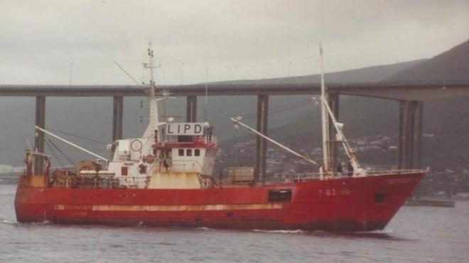 У Баренцевому морі біля Нової Землі затонуло російське судно. 17 рибалок пропали безвісти