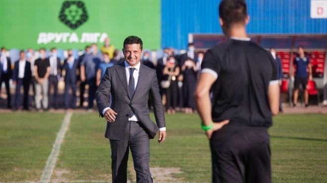 Из-за Зеленского в Кривом Роге на час задержали первый матч «Кривбасса». Президент все свалил на Помпео