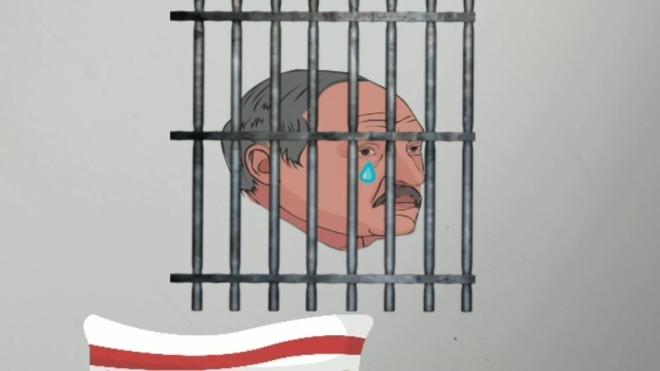 В Instagram сделали мини-игру о Лукашенко, убегающем из Беларуси. Для управления нужно моргать