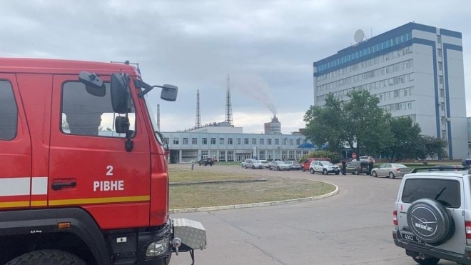 Министр Монастырский назвал предварительную причину аварии на заводе «РівнеАзот»