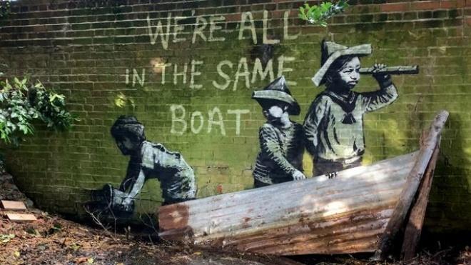 Бэнкси подтвердил авторство 10 граффити, которые несколько дней назад появились на восточном побережье Англии