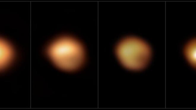 Астрономы через два года выяснили, почему «погасла» звезда Бетельгейзе