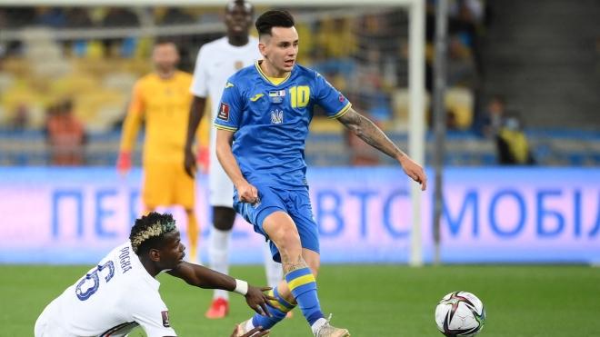 Украина разошлась ничьей с французами в отборе на ЧМ-2022