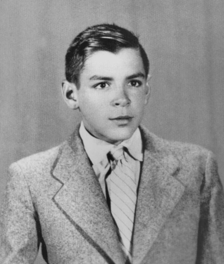 Эрнесто Гевара в детстве в Аргентине, прибл. 1940 год.