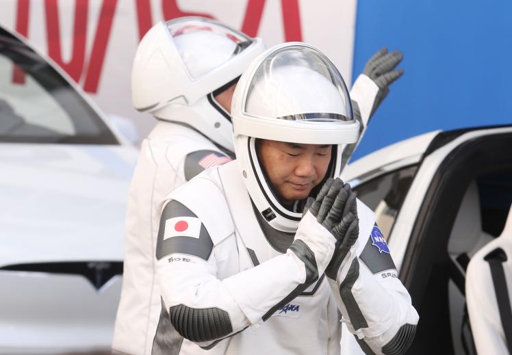 Астронавт Японского агентства аэрокосмических исследований Соити Ногути, 15 ноября 2020 года.