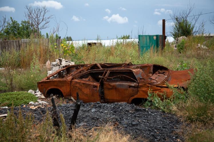 Машина Сергія, згоріла у вересні 2020.