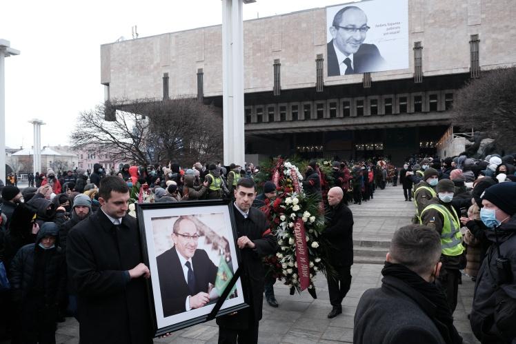 Похорон мера Харкова Геннадія Кернеса, 23 грудня 2020 року.
