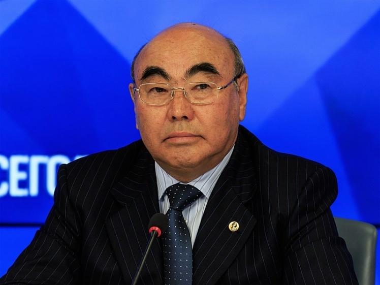 Первый президент Кыргызстана Аскар Акаев.