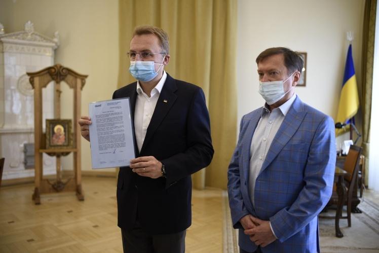 Андрей Садовый и Ростислав Кисиль.