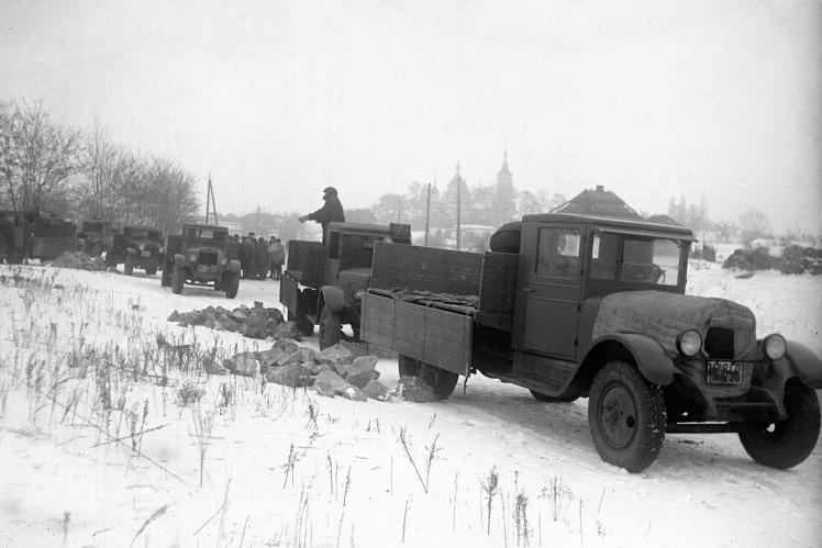 Субботник, организованный Днепропетровским горсоветом, 1934 год.