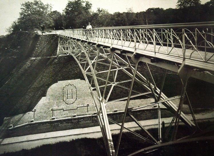 Парковий міст у Києві, 1910-ті роки.