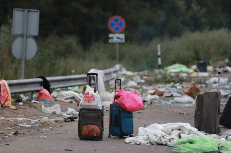 Хасиди в Умані – близько тисячі хасидів повернулися до Білорусі з  українського кордону