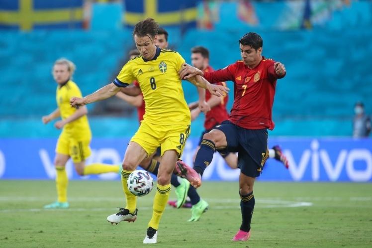 Євро-2020: Іспанія і Швеція зіграли внічию, лідер групи Е — Словаччина