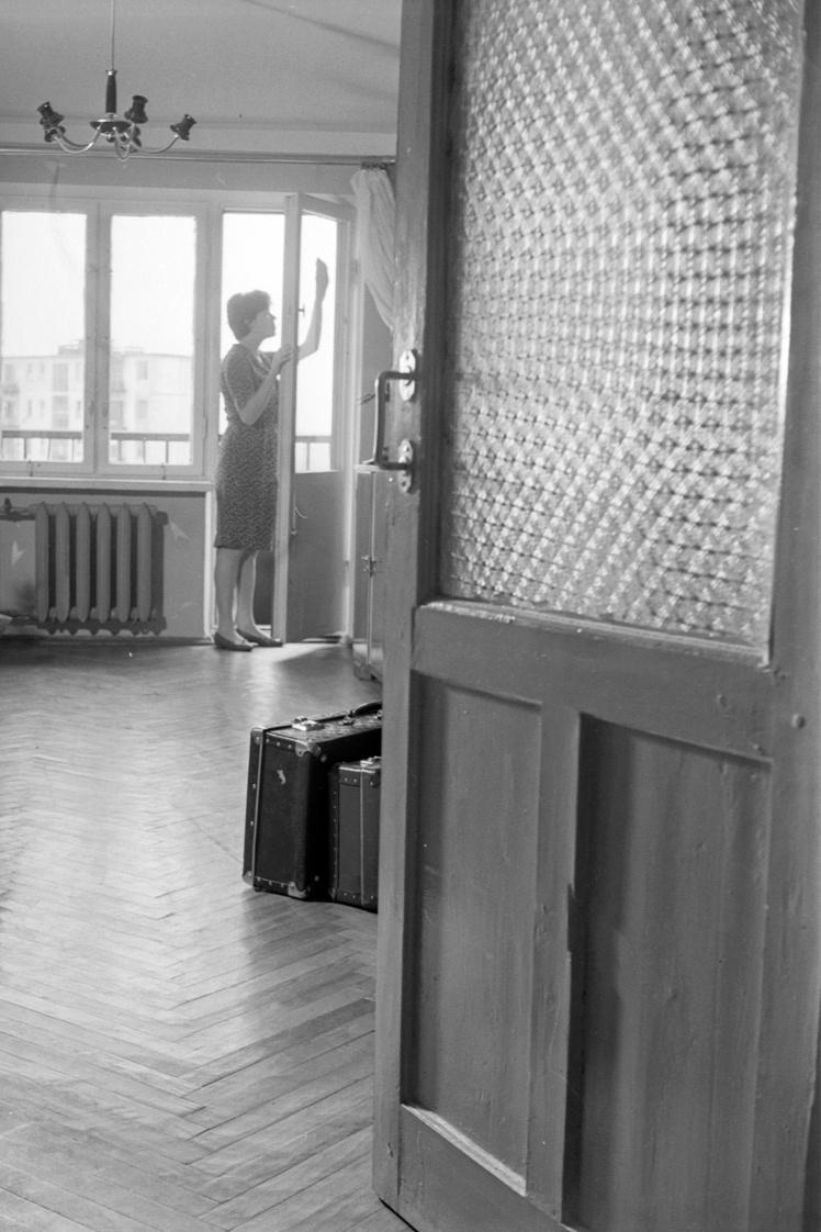 Квартира в новой «хрущевке» в одном из районов Киева, май 1963 года.