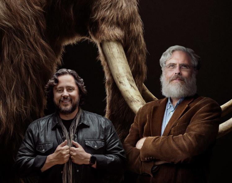 Бен Лэмм (слева) и Джордж Черч, 2021 год.