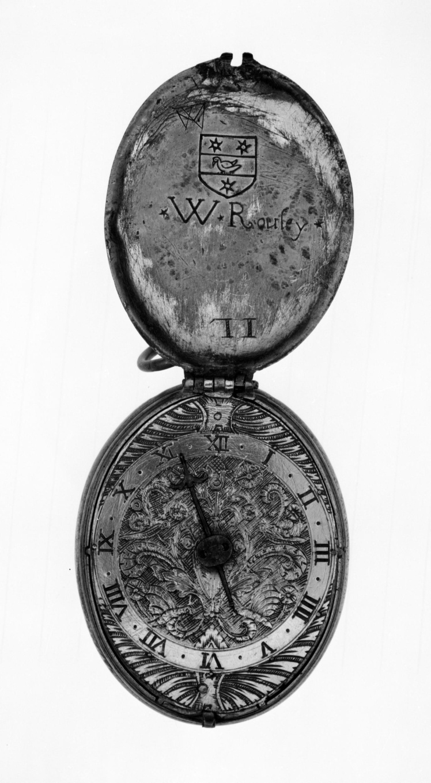 Кишеньковий годинник роботи Рендольфа Булла, 1590 рік. British Museum