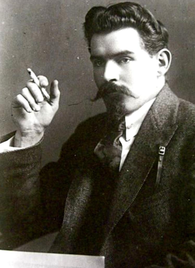 Олександр Шумський, початок 1920-х років.