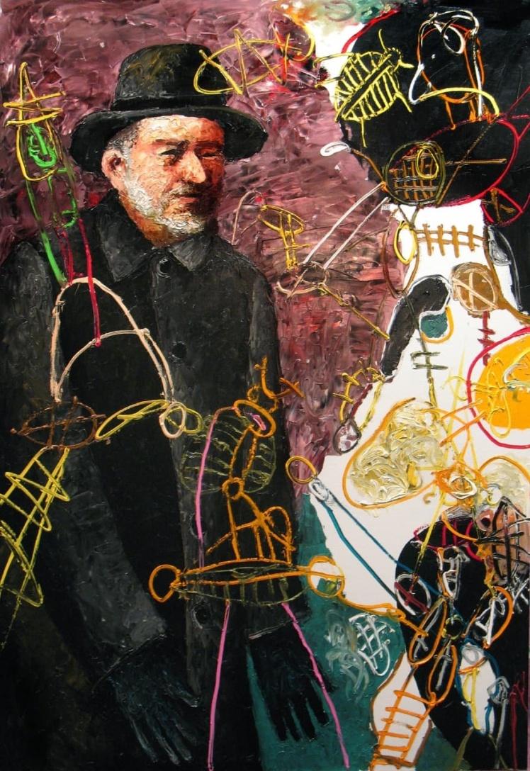 Александр Ройтбурд, Автопортрет, 2008 — 2009.