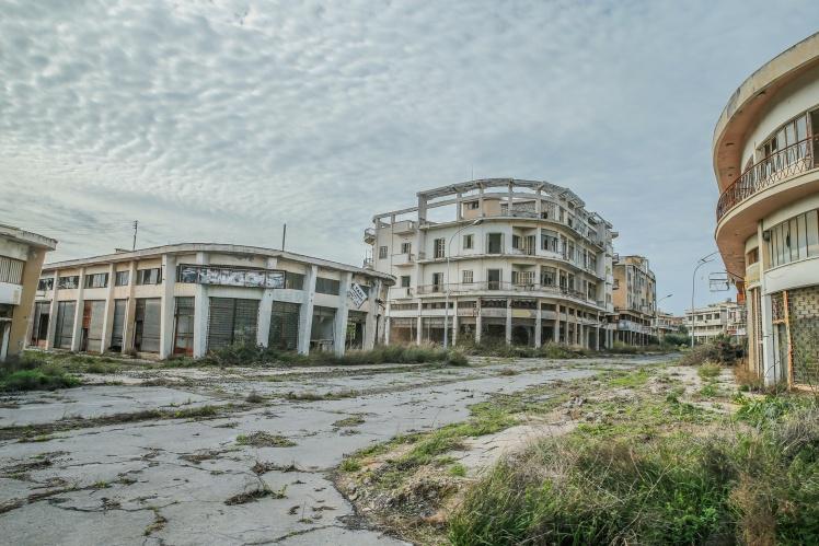 Курорт-примара Вароша в Північному Кіпрі, 15 лютого 2020 року.