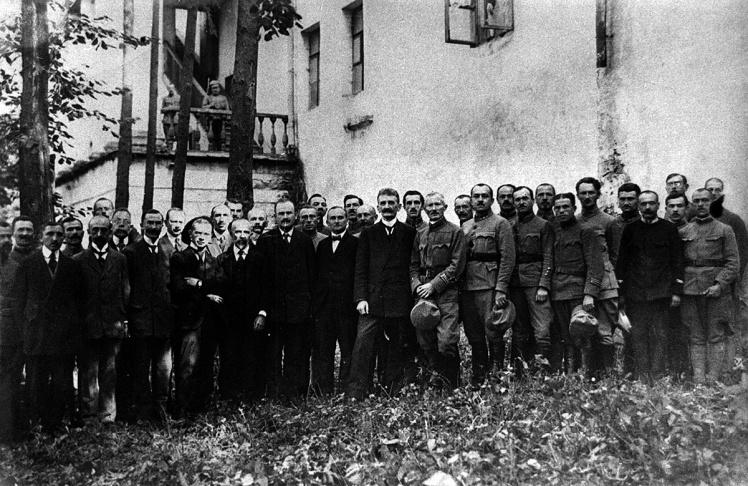 Правительство ЗУНР в Каменец-Подольском, 1919 год.