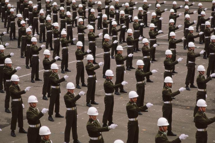 Тренировка военной полиции Тайваня, 6 января 1985 года.