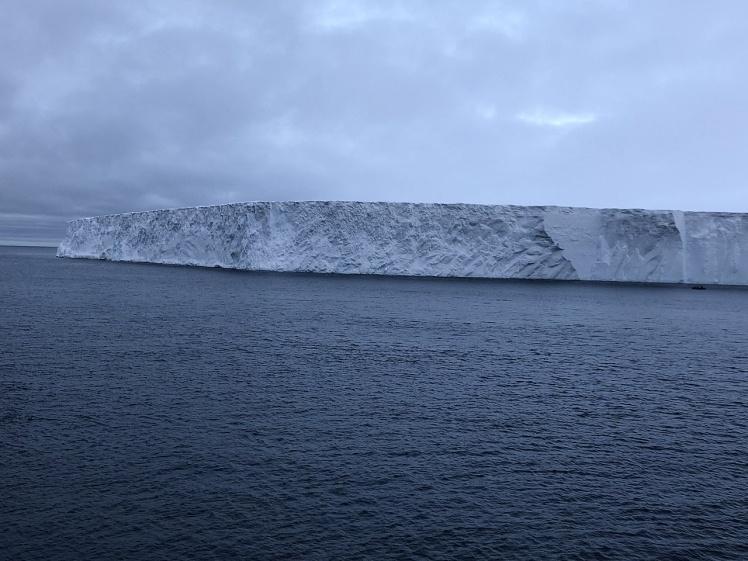 Айсберг А68, 9 декабря 2019 года.